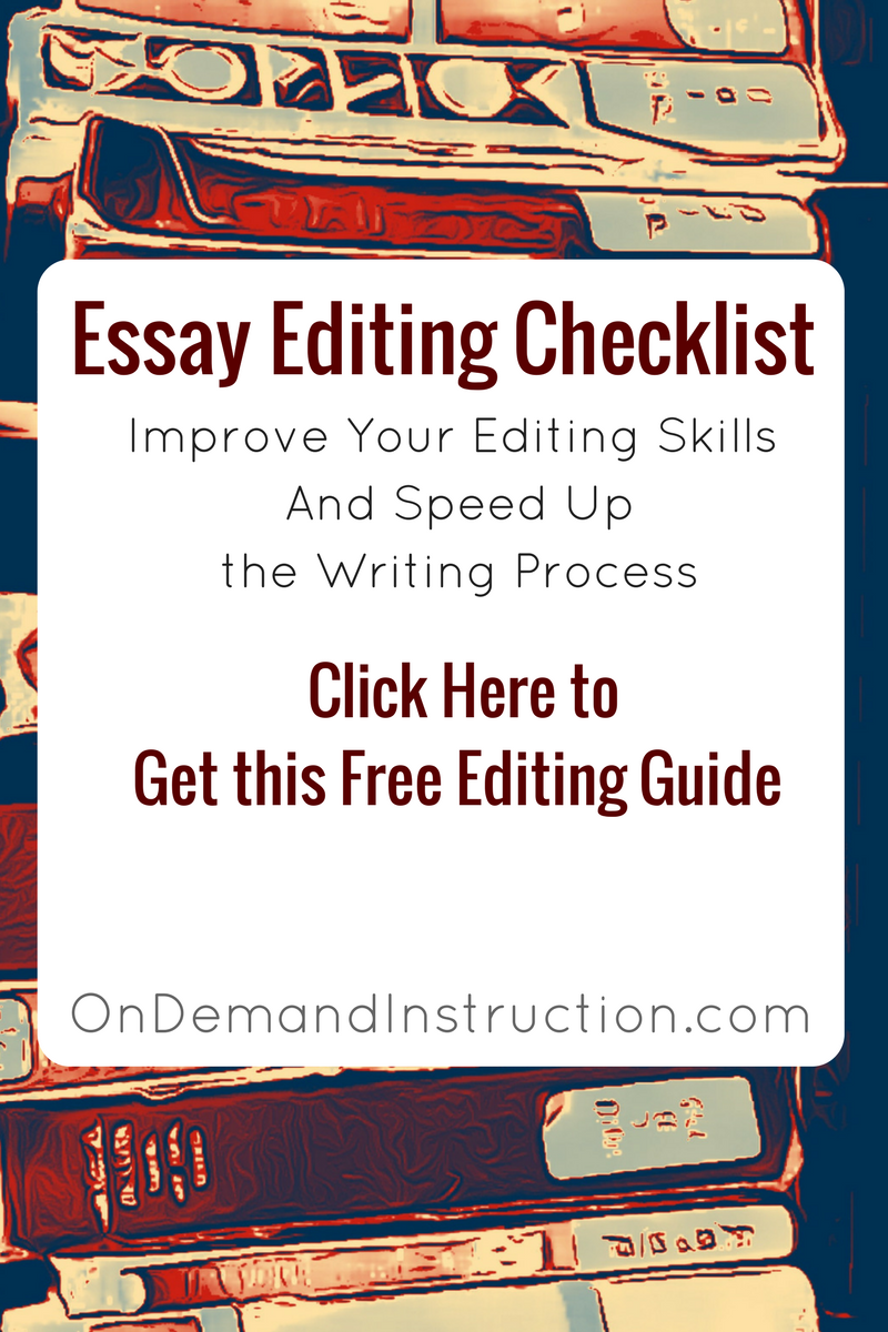 Argumentative Essay High School Download To Get This Free Essay Editing Checklist Proof Read Essay  Editor Essay Checker Online Editing Editing And Proofreading Writing  And Editing What Is Thesis In An Essay also Essay Writing High School Download To Get This Free Essay Editing Checklist Proof Read Essay  Thesis Example For Compare And Contrast Essay