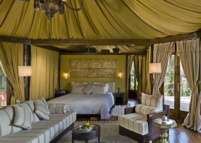 Kasbah Tamadot, Berber Tent Bedroom