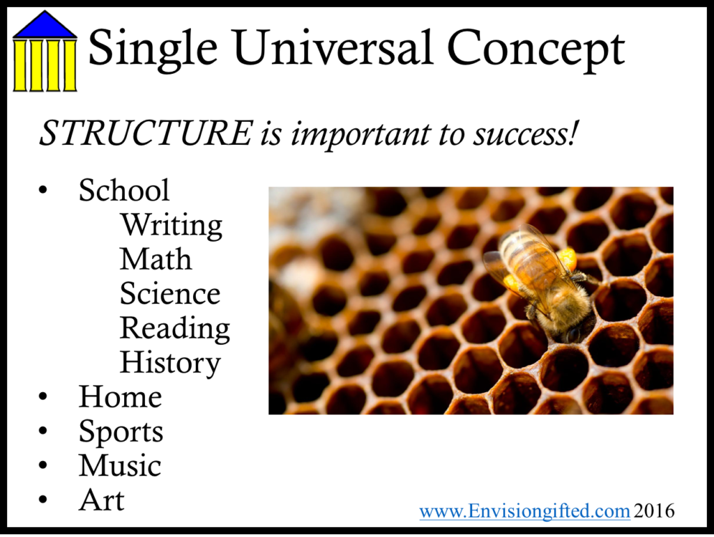Envision Ted Universal Concept And Generalization