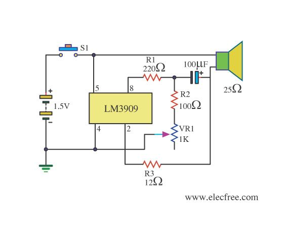 Simple Electronic Projects Circuit Diagram Wiring Source