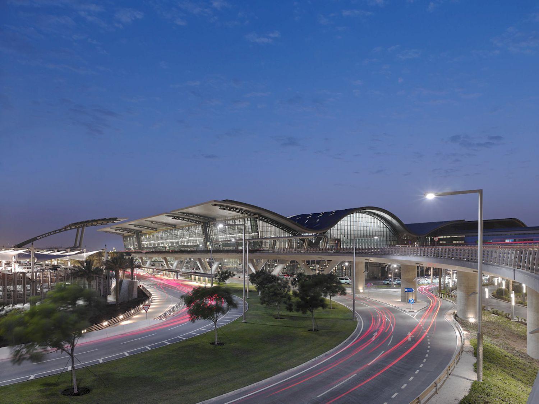Hamad International Airport Passenger Terminal Complex Hok Arch2o Com In 2020 Hamad International Airport International Airport Airport