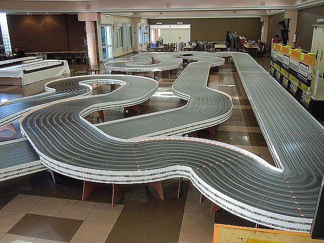 Unique And Different Track Designs Slot Cars Slot Car Racing Slot Car Tracks