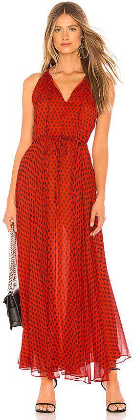 8638073c3d2 Diane von Furstenberg Tie Waist Maxi Dress
