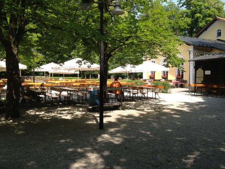 Zum Flaucher Sendling Munchen Bayern Patio Beer Garden Patio Umbrella