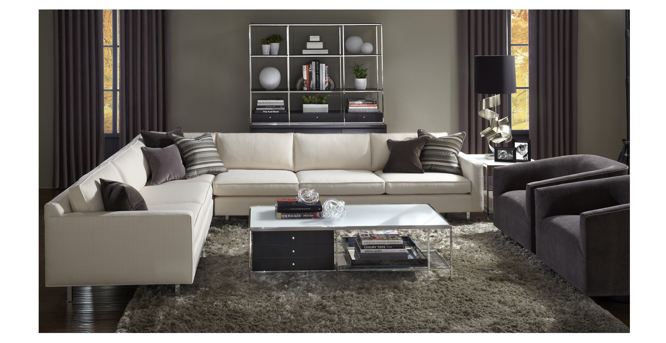Mitchell Gold And Bob Williams Living Room Contemporary