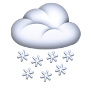 Cloud With Snow Emoji Iphone Iphone 8