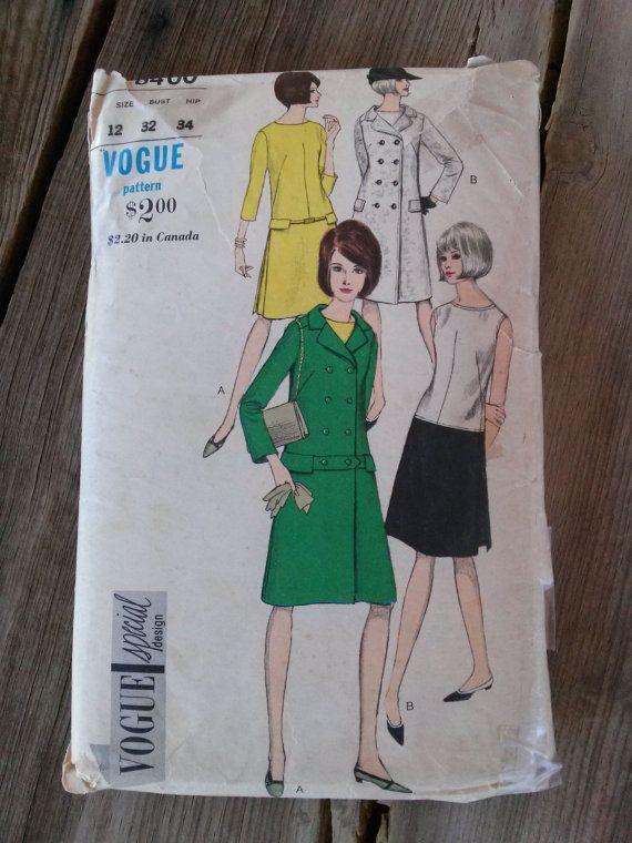 Jahrgang der 1960er Jahre transparentem Mantel von bycinbyhand | HS ...