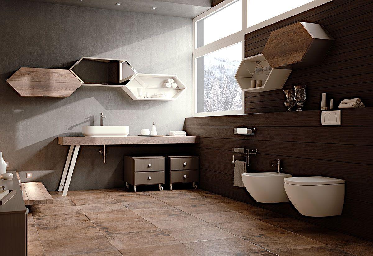 Arcari arredamenti bagno contemporaneo bathroom