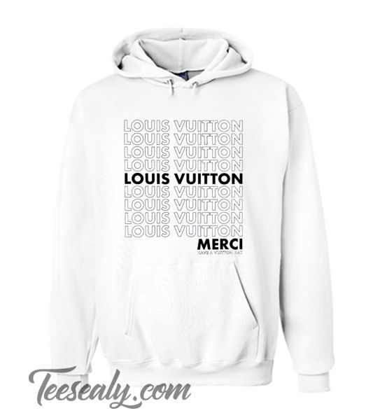 b73e0deaee0 Louis Vuitton Merci Hoodie in 2019