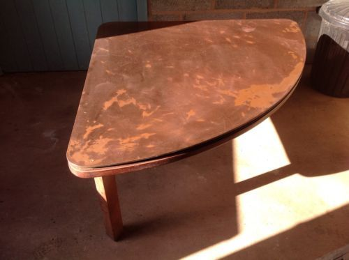 Low #copper top #solid wood coffee #table,  View more on the LINK: 	http://www.zeppy.io/product/gb/2/131667540820/