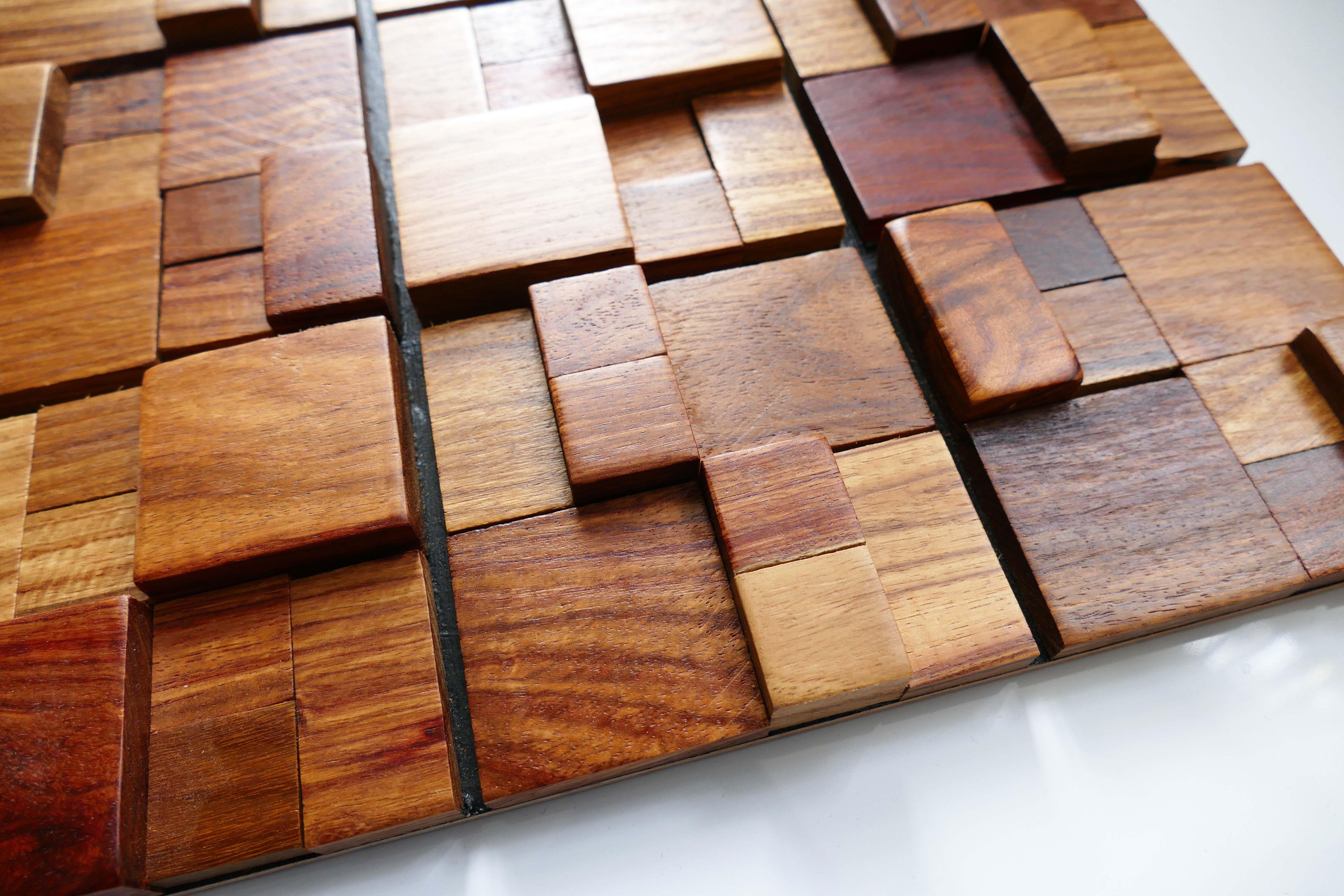 Wall Tiles Wall Decor Mosaic Tiles Reclaimed Wood Tile Decorative Wood Tiles