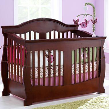 Savanna Grayson Convertible Crib Cherry Jcpenney Baby