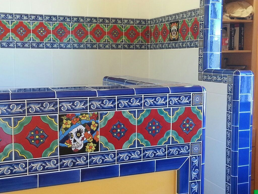 Decorative ceramic relief tiles from Mexico. | Mexican Tile Shop ...