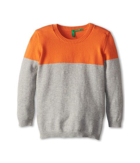 United Colors of Benetton Kids Colorblock Sweater