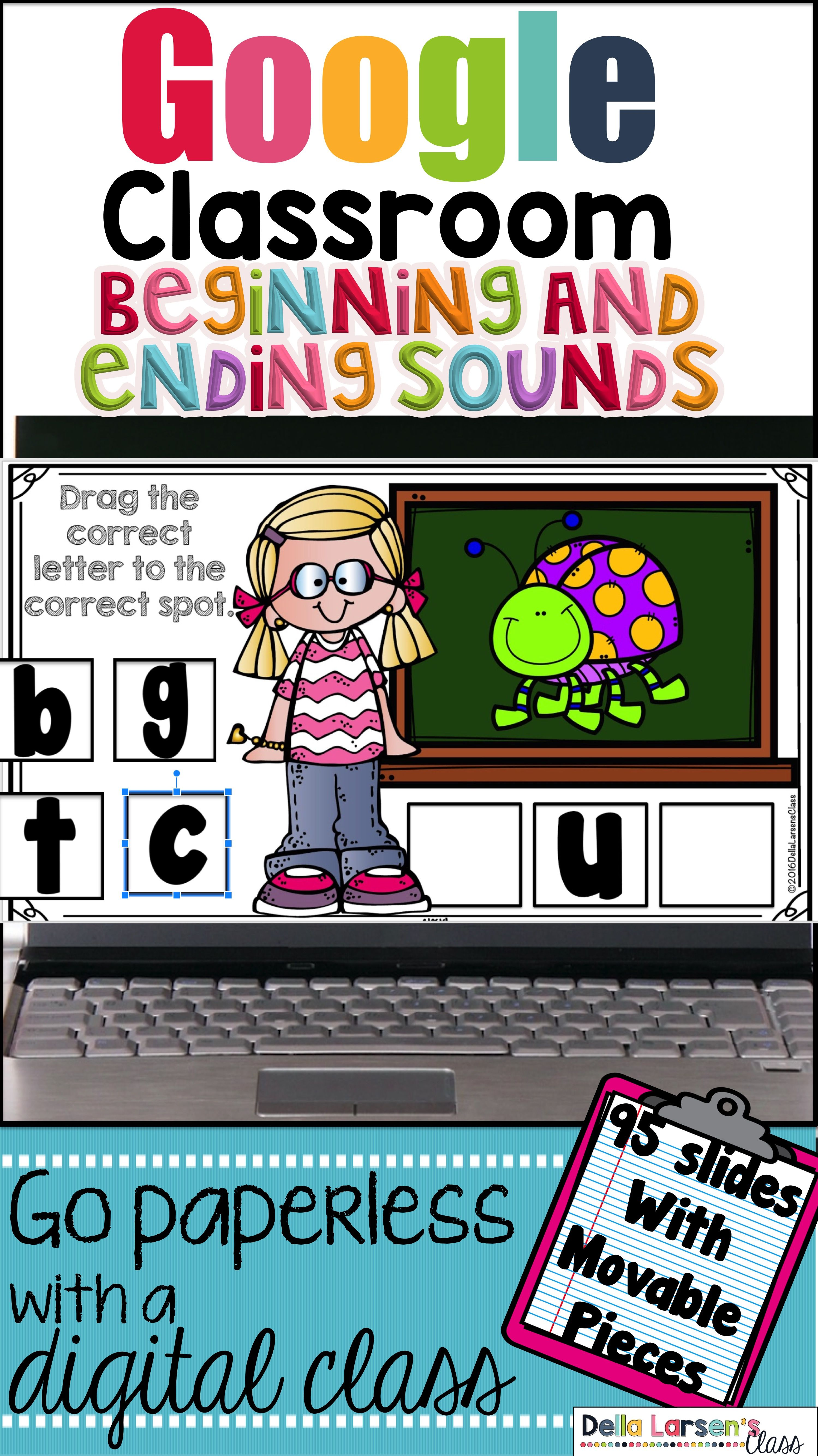 Classroom Beginning And Ending Sounds For First