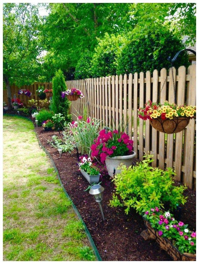 49 simple, easy and cheap diy garden landscaping ideas 23