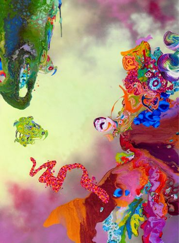 Artist Kimber Berry Painter, MB Honaker Art Sales and Consultation