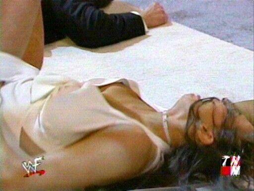 Stephanie mcmahon boob slip