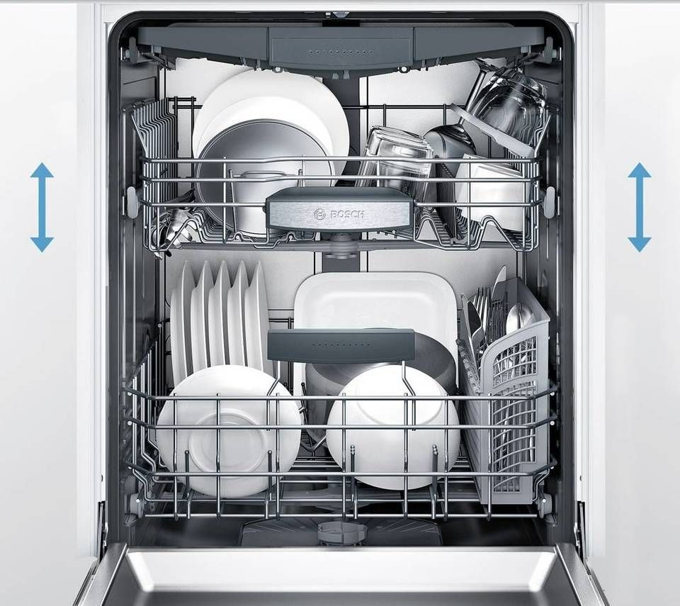 Bosch 300 44 Decibel Front Control 24 In Built In Dishwasher Black Energy Star Lowes Com Built In Dishwasher Black Dishwasher Quiet Dishwashers