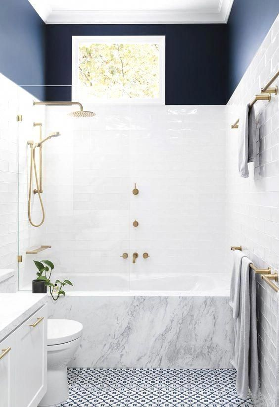 New bathroom setup or old restroom remodeling would give you a chance to make the interiors of your restroom bright and airy. #restroomremodel