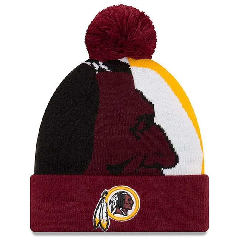 c0972b00f71  mothersday  AdoreWe  Fanatics.com Teamware   Logo - New Era Washington  Redskins New Era Youth Logo Whiz 3 Cuffed Knit Hat - Burgundy - AdoreWe.com