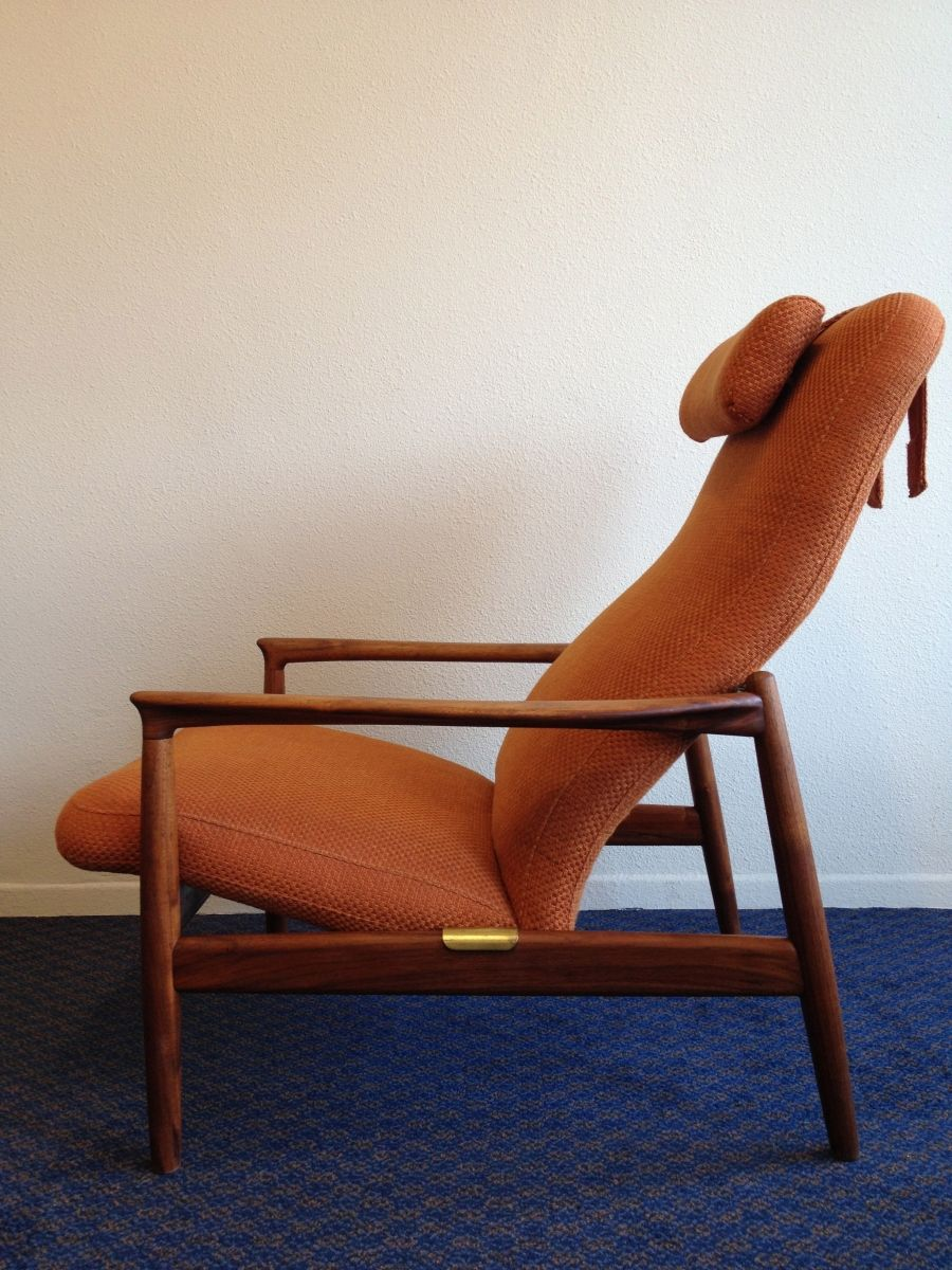Folke Ohlsson Teak Lounge Chair For Dux 1960s Chaired
