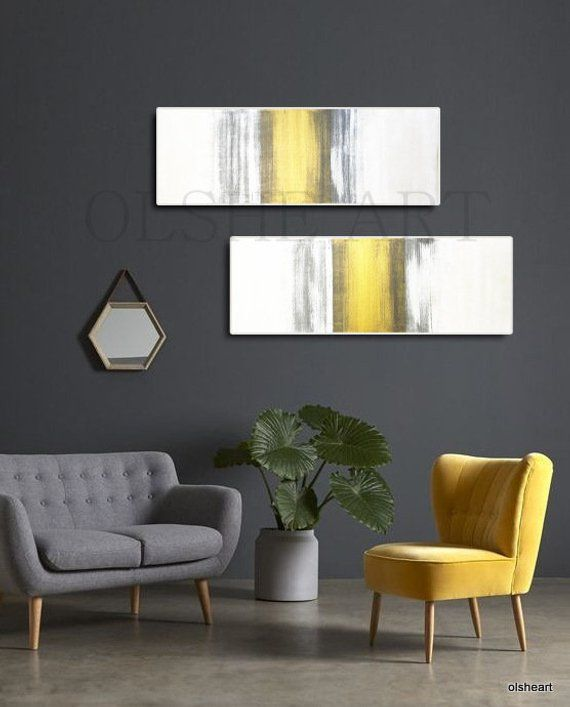 Original painting on canvas,abstract painting on canvas,Golden painting,home interior,Home improvement,Interior design and decoration,set is part of Living room paint - Set of 2 paintings  Abstract painting on canvas with acrylic paints   This original work was created by me in 2019   My paintings are 100% handmade, original works of art  I work with professional paints   This image is tagged on the back   The picture comes in a roll, wrapped in a rigid tube  You