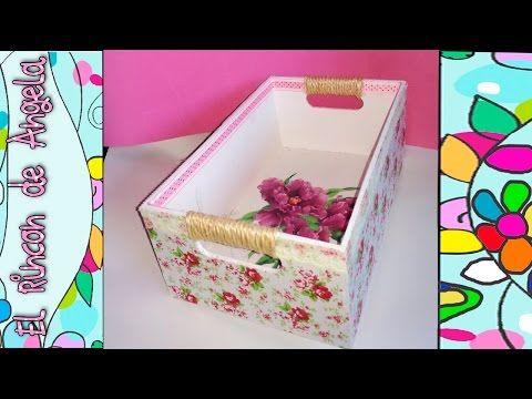 10 Ideas para decorar cajas de carton