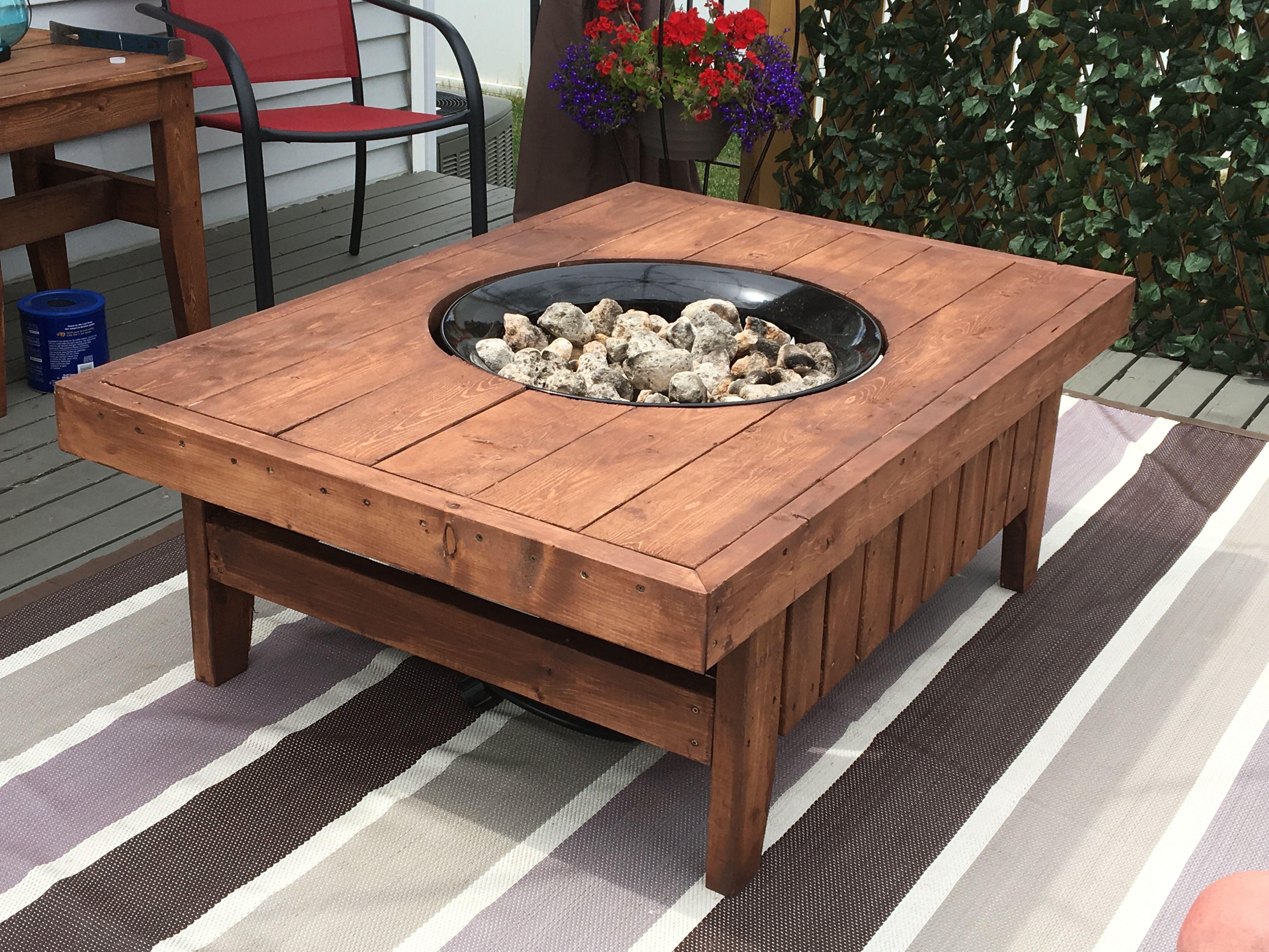 Diy Propane Fire Pit Table Kit