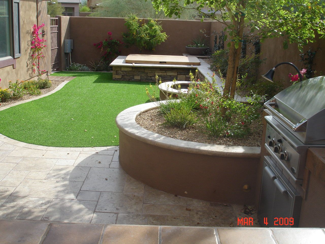 Heres a different style for small back yards | Garden and backyard ...