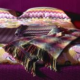 No one visually mixes pattern & texture better than Missoni