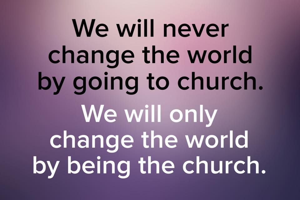 The Church Is Called To Worship God Not Change The World Bible