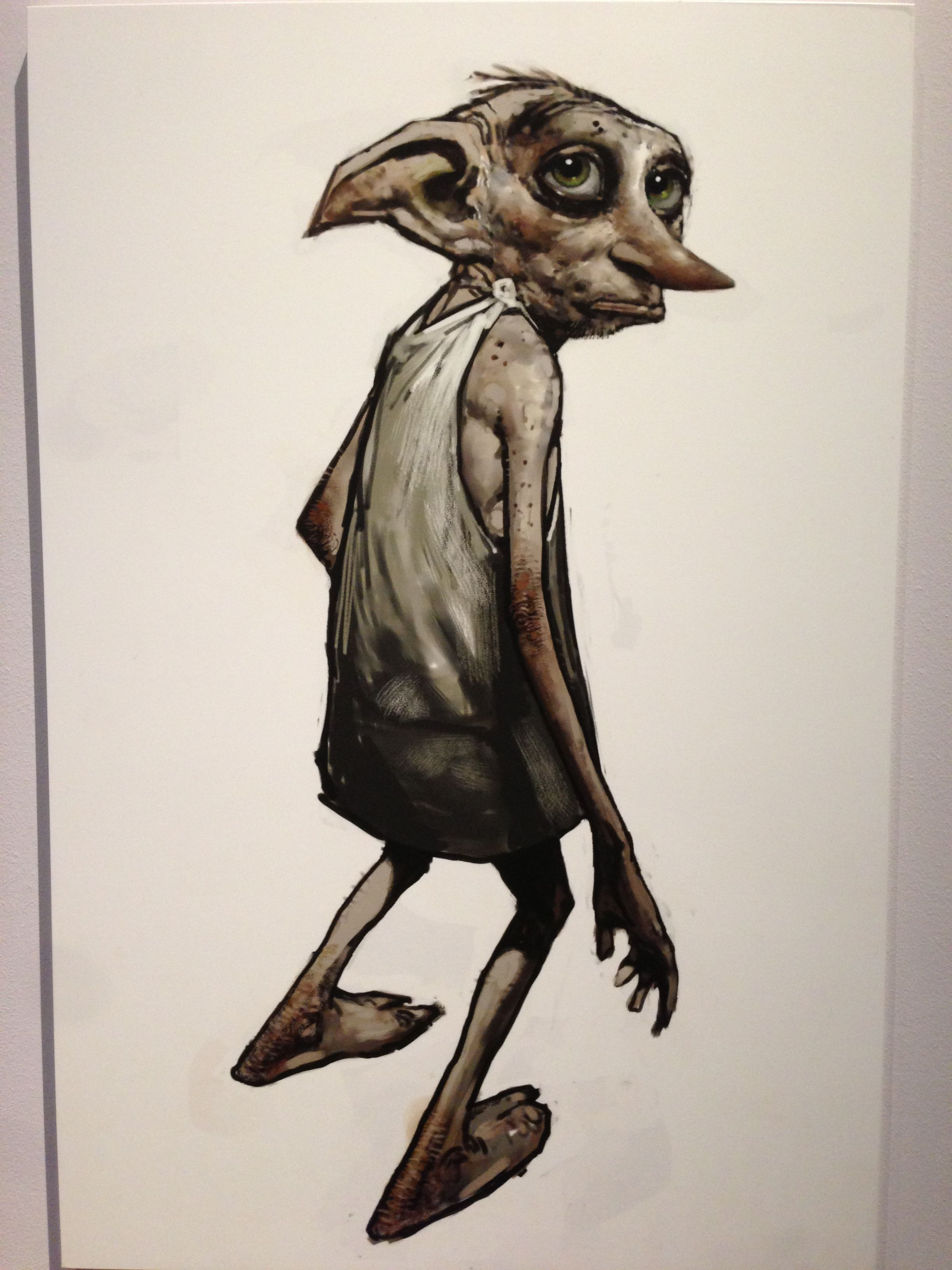Dobby The House Elf Concept Art Mike