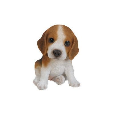 Hi Line Gift Ltd. Sitting Beagle Puppy Statue