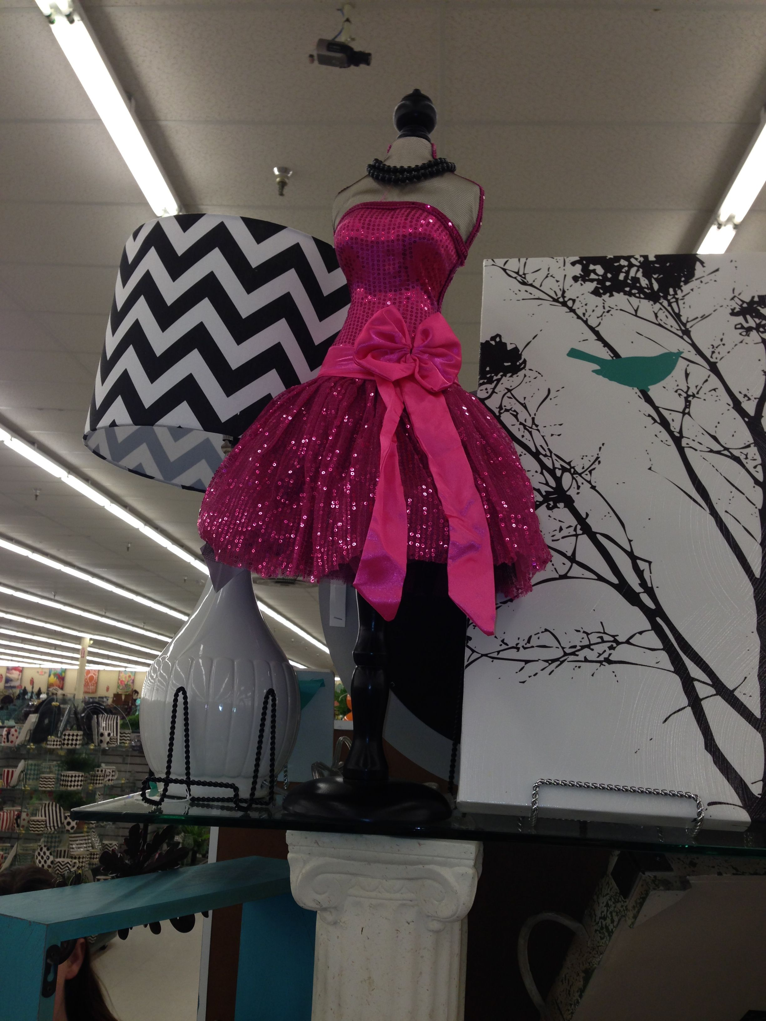 Mannequin From Hobby Lobby Makeup Station Girl Cave Strapless