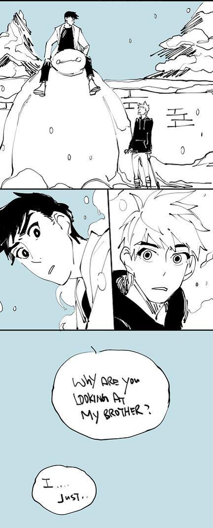 Tadashi meet Jack Frost 2