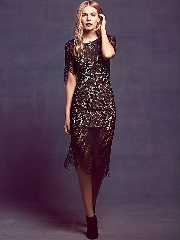 Black Colour Luna Boho Long Dress