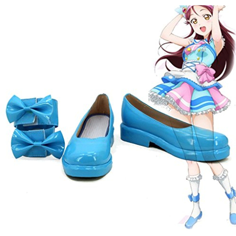 Lovelive!Sunshine!! Sakurauchi Riko Cosplay Shoes Boots Custom Made
