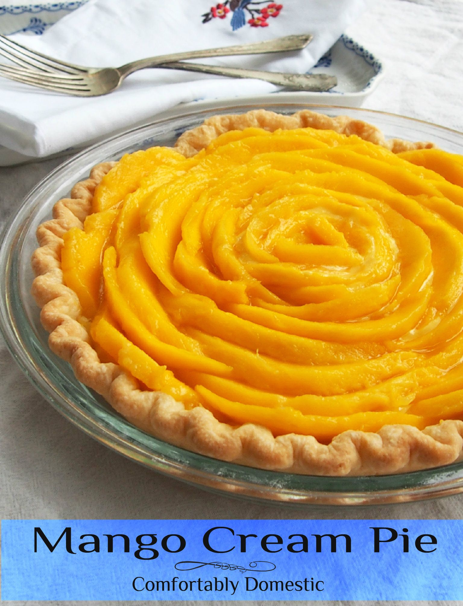 recipe: fresh mango pie recipe [1]