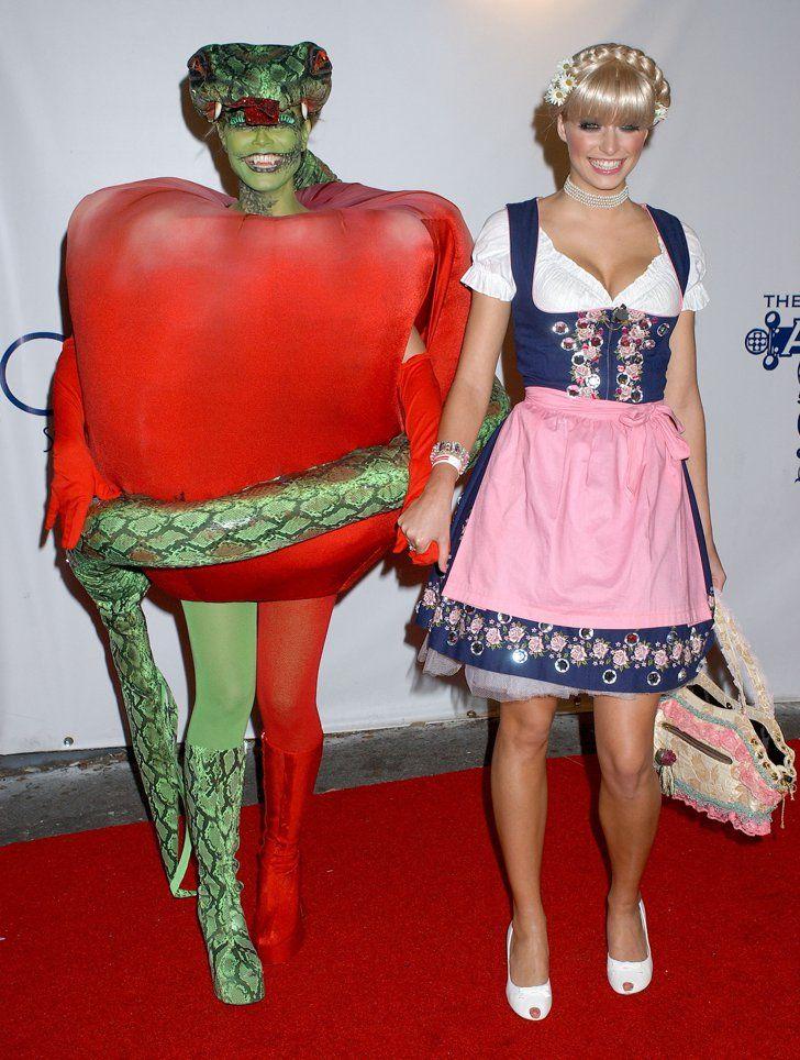 Heidi Klum And Lena Gercke
