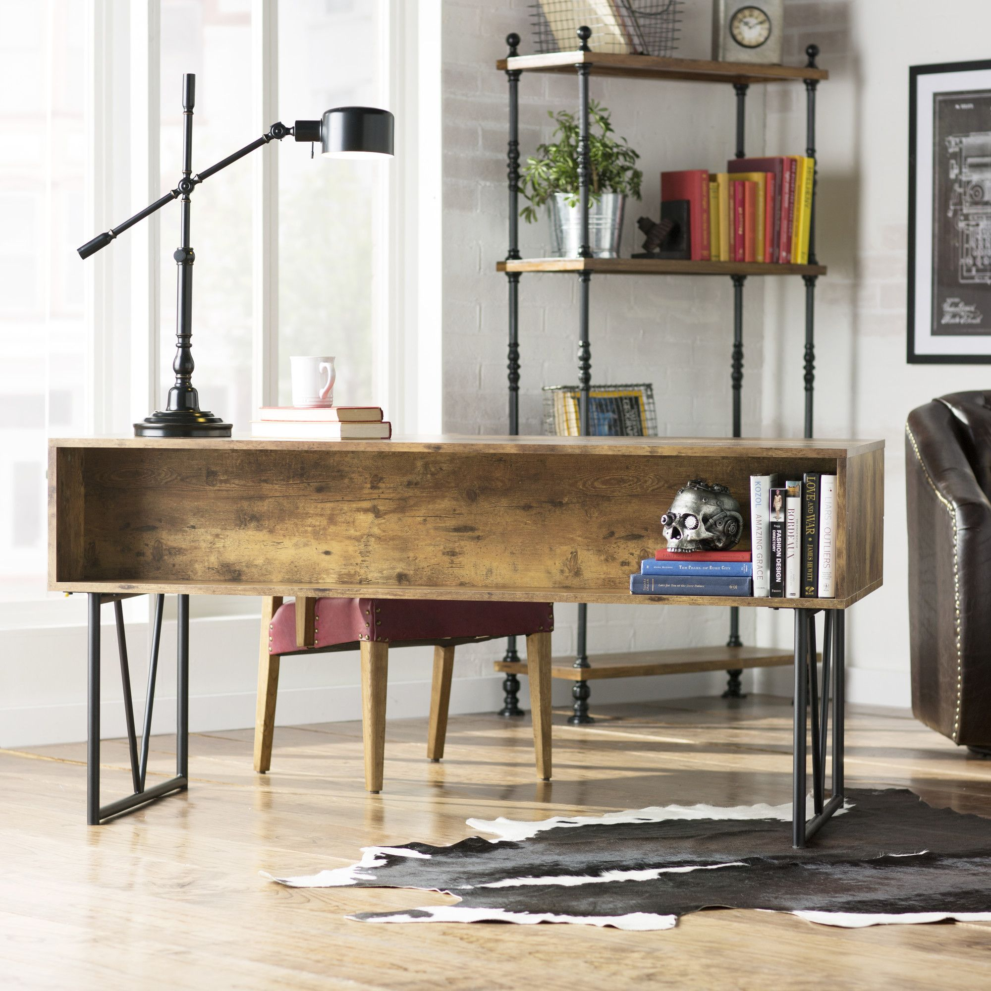 Granite 4 Drawers Writing Desk Home office furniture