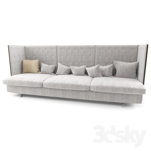 Poltrona Frau GRAN TORINO HB 3 SEATER LARGE SOFA   Furniture for ...