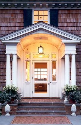 Arched Front Porch Front Porch Arch My Dream Home Front