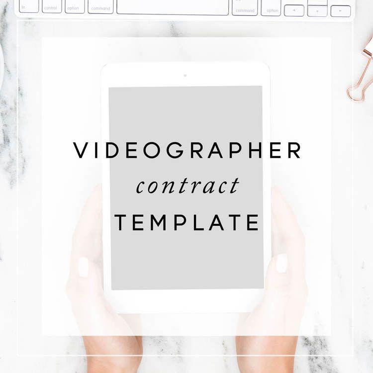 social media contracts templates