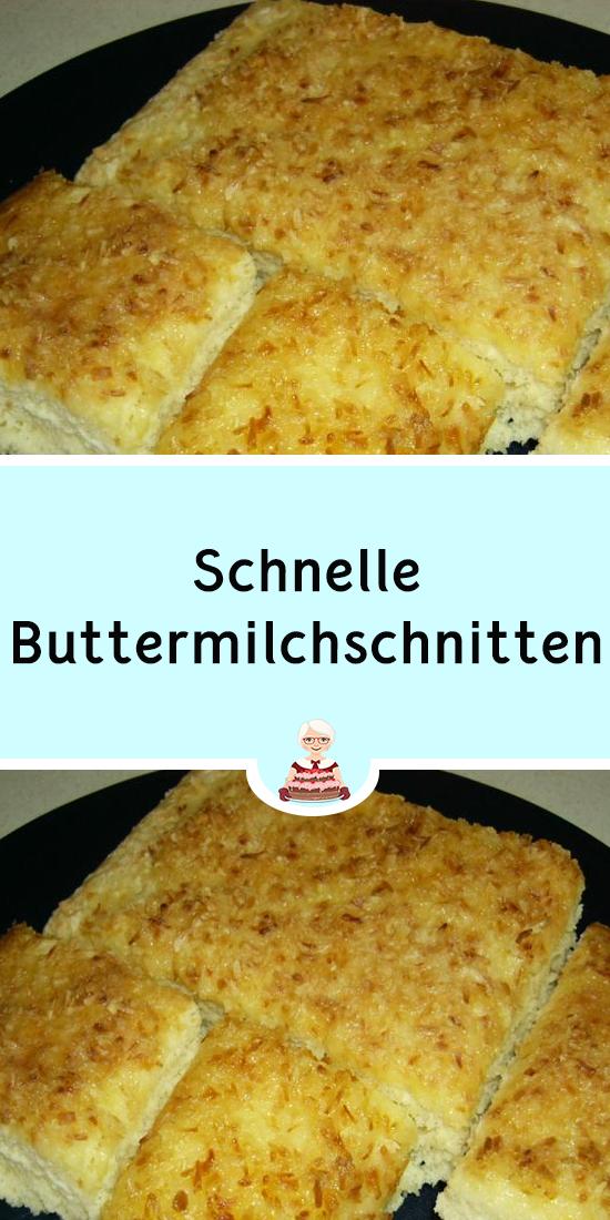 schnelle buttermilchschnitten jettie amp kuchenrezepte2020 in