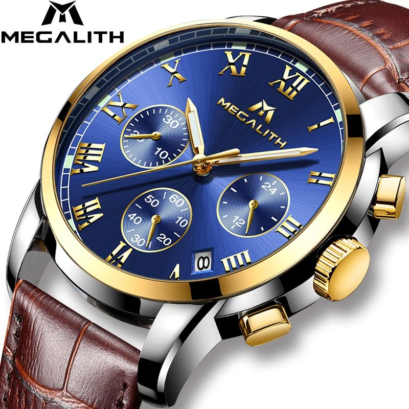 Discount Up to 50 MEGALITH Watches Men Sports Waterproof