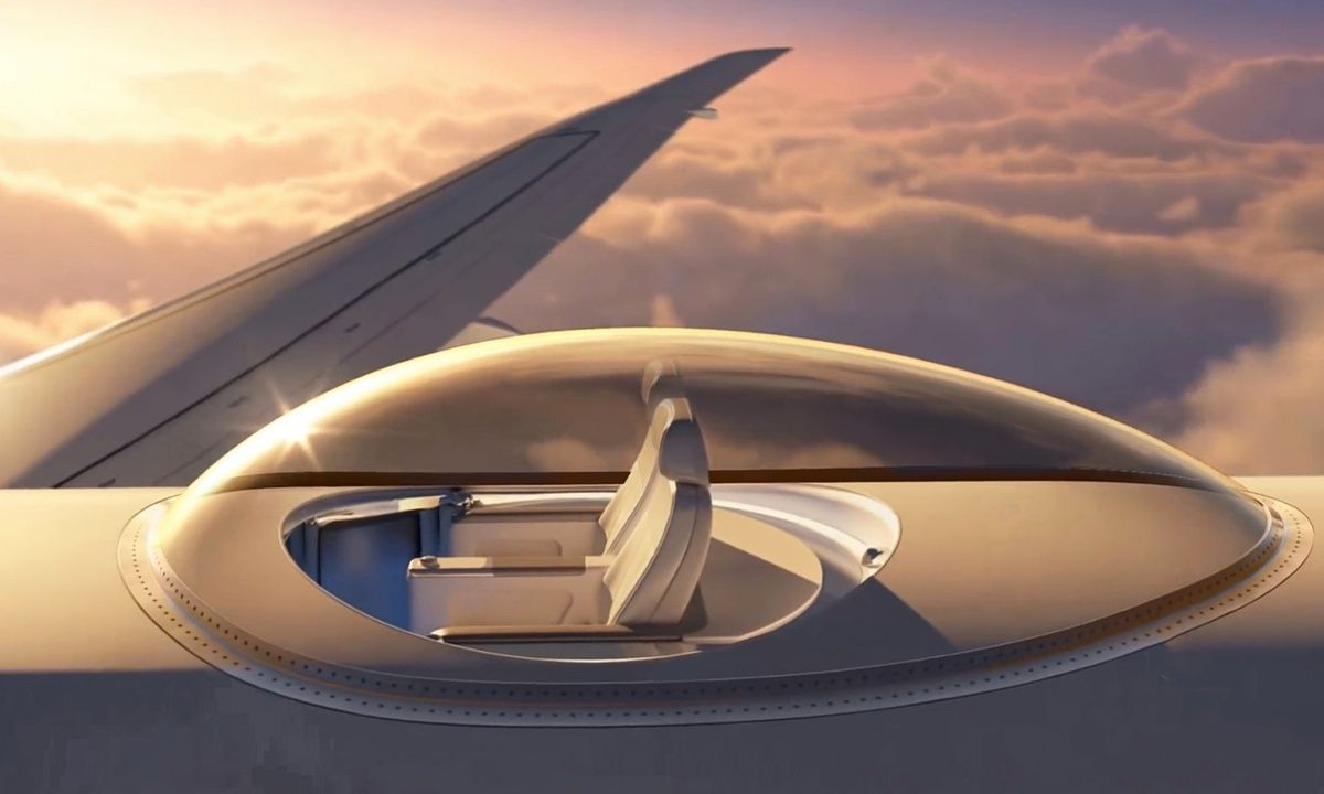Phenomenal Is This The Ultimate Aeroplane Window Seat Winnervation Cjindustries Chair Design For Home Cjindustriesco