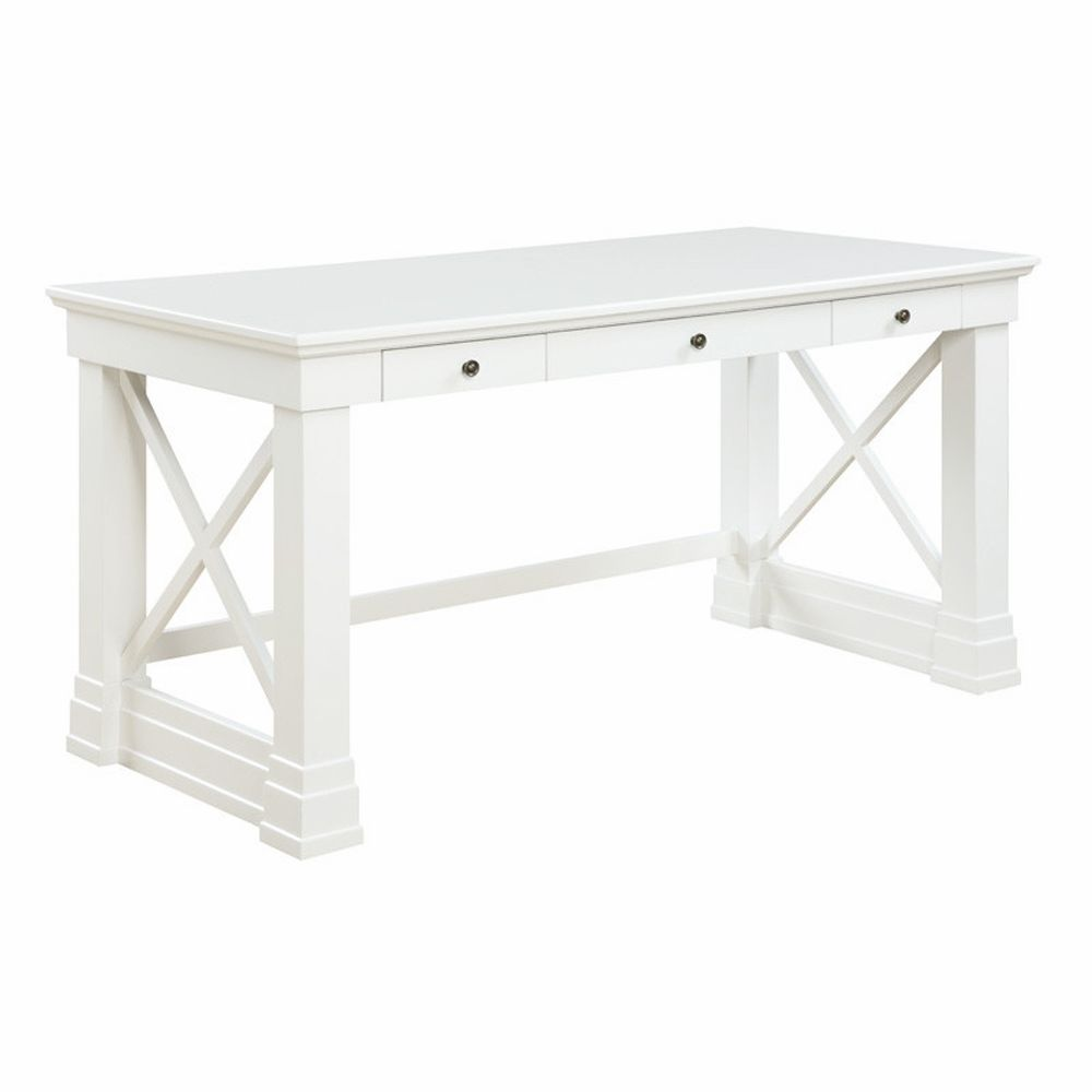 Donny Osmond Johansson Desk In Antique White 801381 Antique White Desk Antique White Writing Desk White Writing Desk