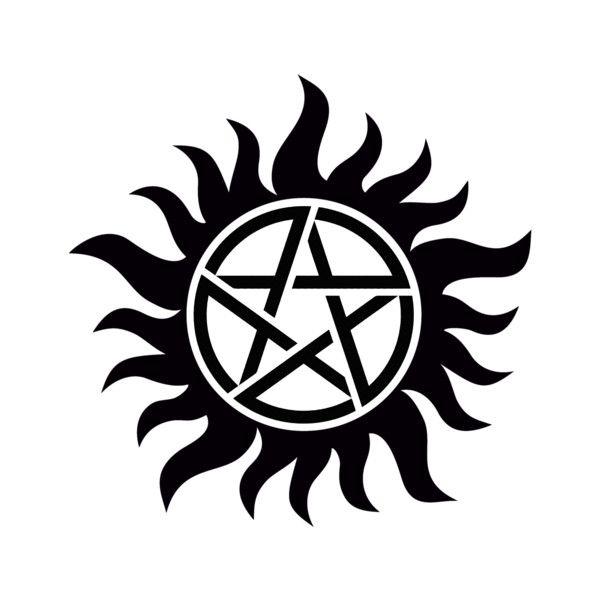 Anti Possession Tattoo Hd Png Idee Per Tatuaggi Supernatural Tatuaggi Vichinghi