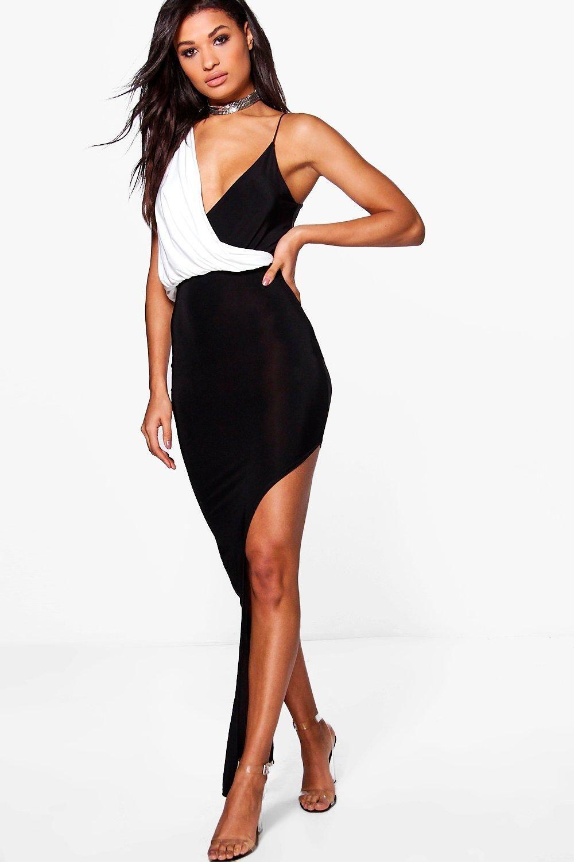 17ac3acff6d8 Sana Slinky Wrap Split Maxi Dress   Costumes   Dresses, Dresses for ...
